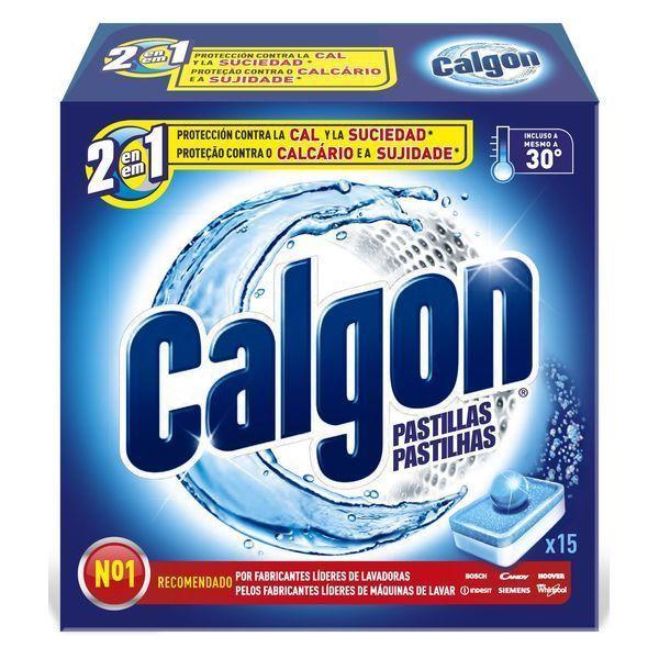 Tabletki Przeciw Osadzaniu się Kamienia Calgon (15 sztuk)