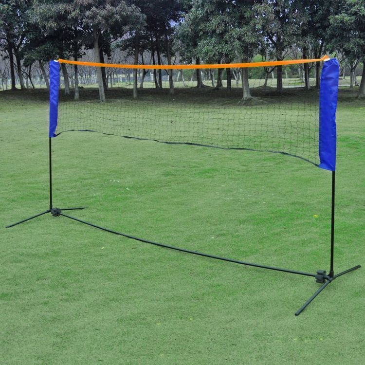 Siatka do badmintona, lotki, 300x155 cm