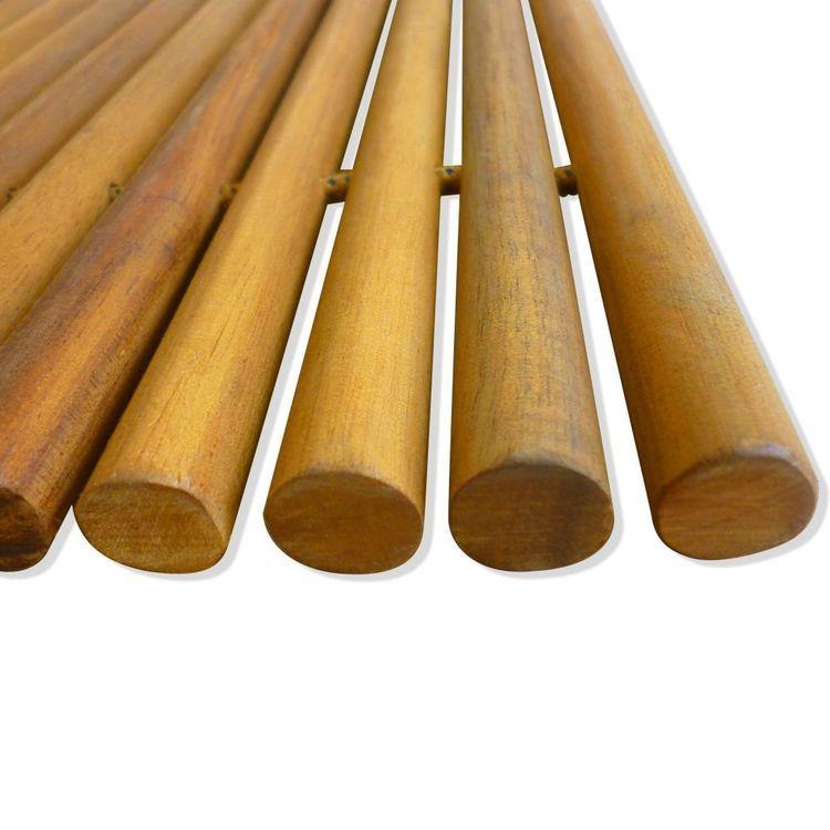 Mata łazienkowa, drewno akacjowe, 80 x 50 cm