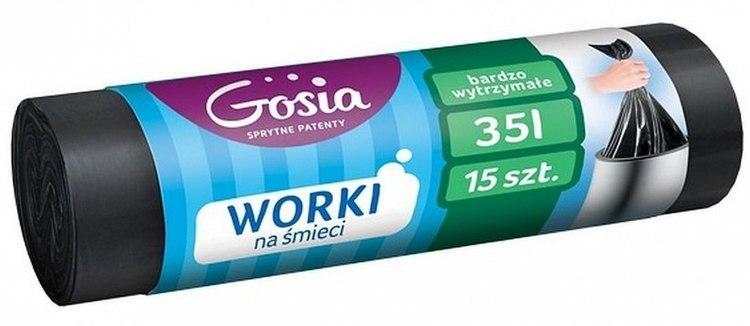 Gosia Worki 35l G A15 Czarne 3584 GOSIA