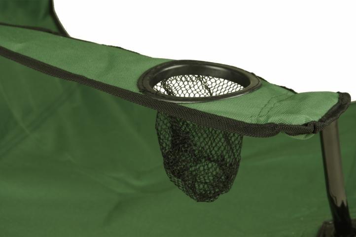 Krzesełko turystyczne składane do 120 kg wędkarskie zielone