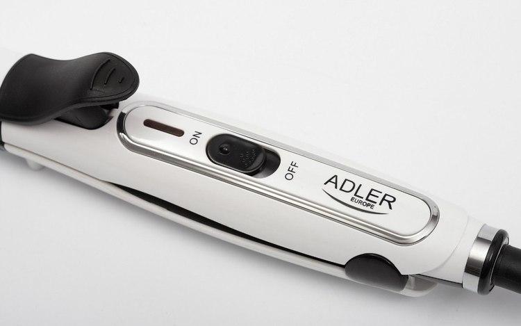 Hair Straightener Adler Warranty 24 month(s), Ceramic heating system, 50 W, White w Strefie Komfortu
