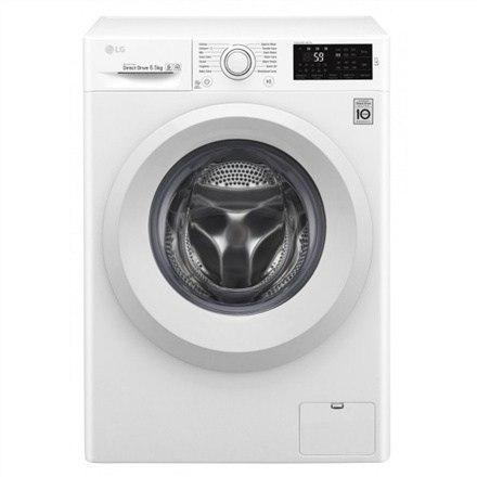 LG Washing machine F2J5WN3W Front loading, Washing capacity 6.5 kg, 1200 RPM, Direct drive, A+++, Depth 44 cm, Width 60 cm, Whit w Strefie Komfortu