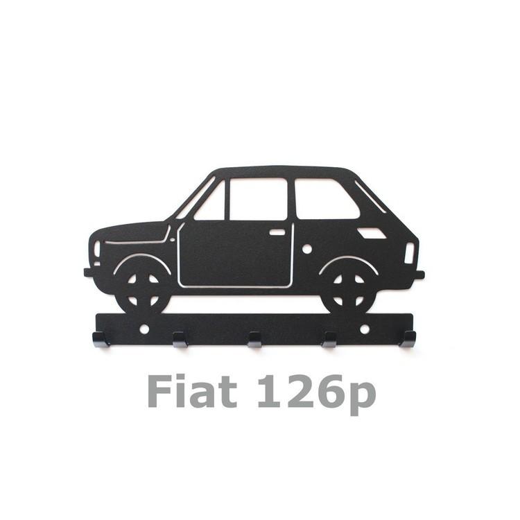 Wieszak na klucze Fiat 126p maluch