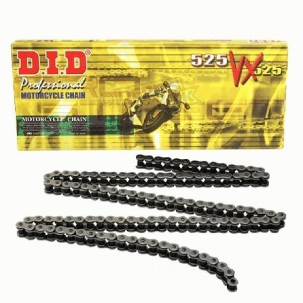 Łańcuch napędowy DID 525VX ilość ogniw 120 (X-ringowy, wzmocniony)