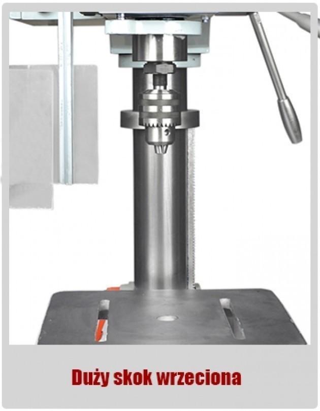WIERTARKA GWINCIARKA STOŁOWA SLUPOWA KOLUMNOWA DO METALU MAKTEK WS32 32 mm EWIMAX