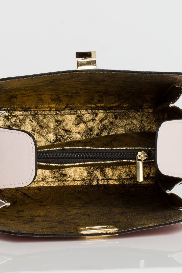 Podręczna torebka pudrowa
