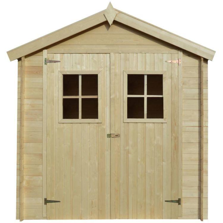 Szopa ogrodowa, szopka 2x1,5 m, 19 mm, drewno