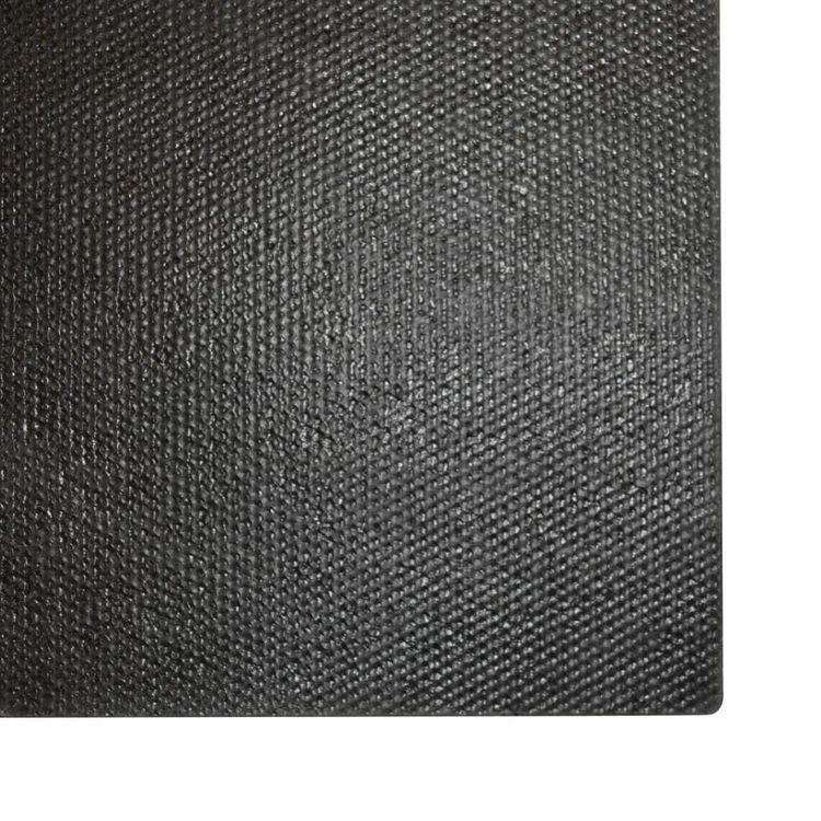 Wycieraczka z włókna kokosowego, 17 mm, 100x400 cm, czarna
