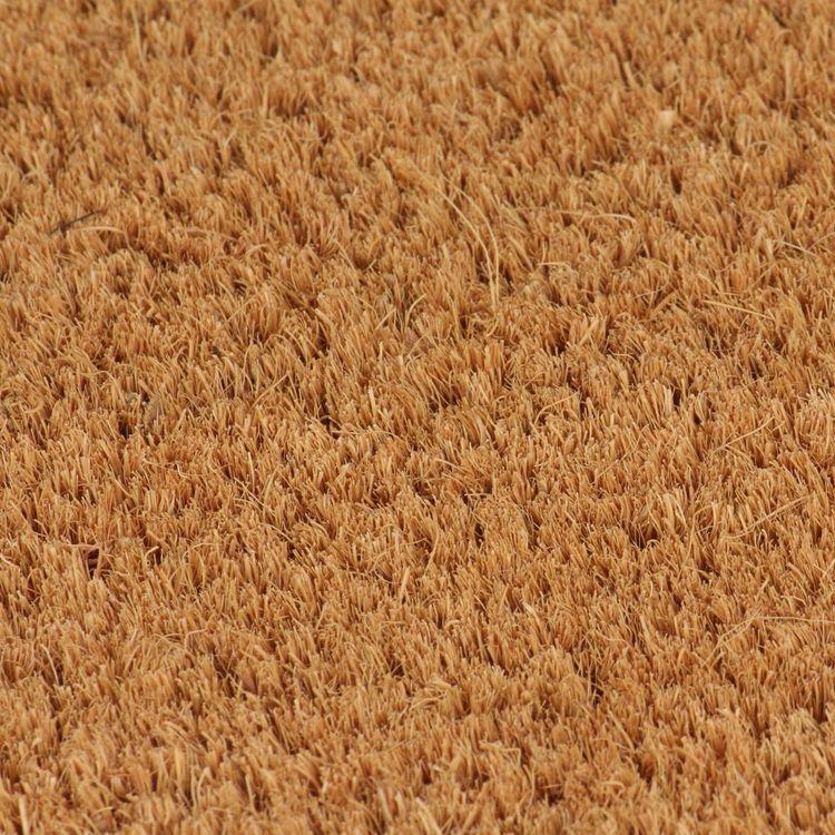 Wycieraczka z włókna kokosowego, 24 mm, 100x100 cm, naturalna