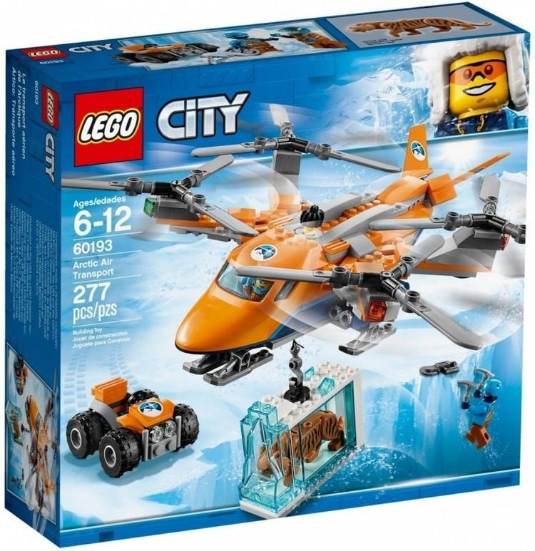 City Arktyczny transport powietrzny