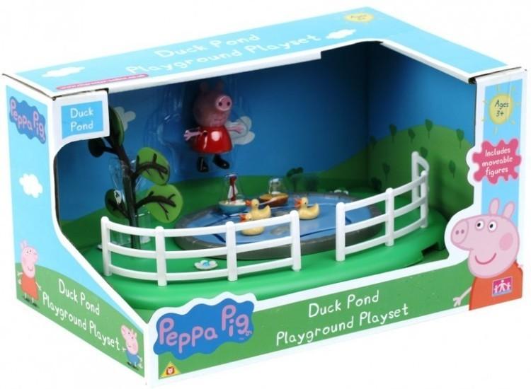 PEPPA Plac zabaw z figurką