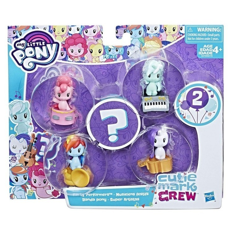Zestaw do kolekcjonowania My Little Pony - Party Performers