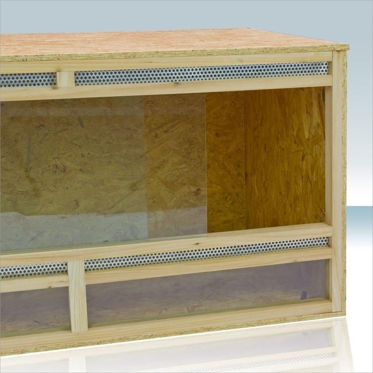 Terrarium drewniane HT120 płyty OSB dla zwierzęt pająków i gadów