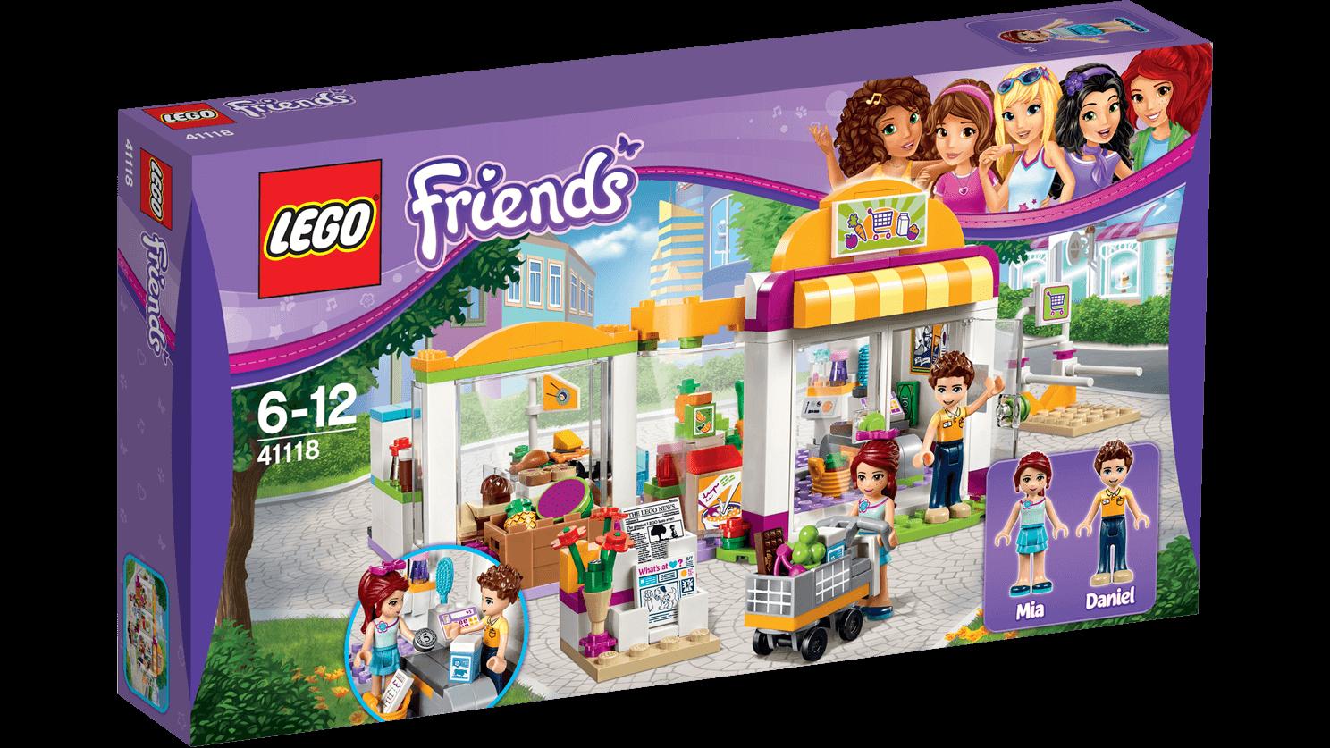 Lego Friends Supermarket W Heartlake 41118 Shumee