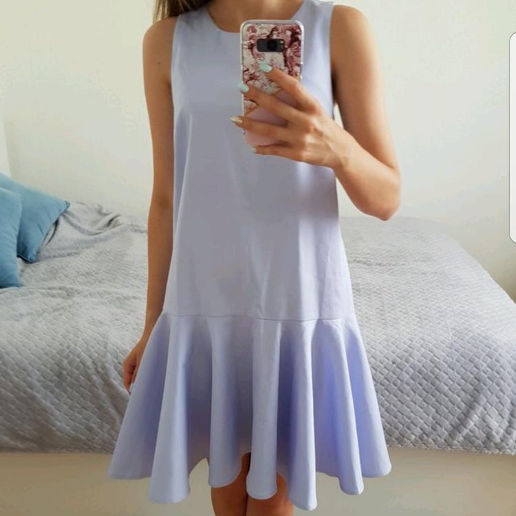sukienka kiss my dress z falbanką