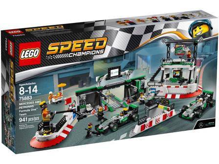 LEGO Speed Champions 75883 Zespół Formuły 1 MERCEDES AMG PETRONAS