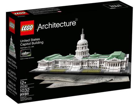 LEGO Architecture 21030 Kapitol Stanów Zjednoczonych