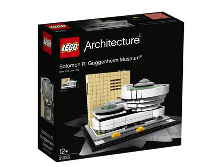 LEGO Architecture 21035 Muzeum Solomona R. Guggenheima