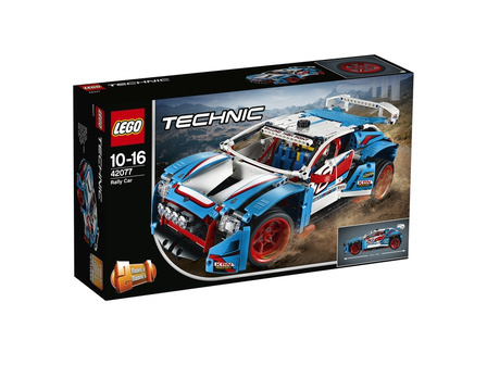 LEGO Technic 42077 Niebieska wyścigówka
