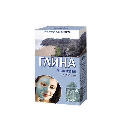 FITO COSMETICS_Azowska błękitna glinka do twarzy i ciała tonizująca 100g