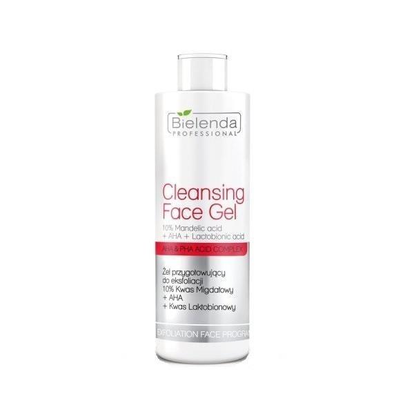 Exfoliaton Face Program Cleansing Face Gel żel przygotowujący do eksfoliacji 10% kwas migdałowy + AHA + kwas laktobionowy 200g