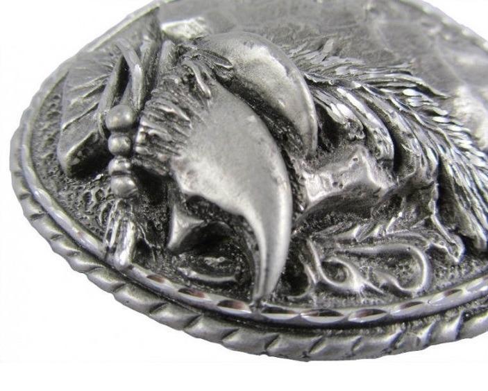 Oryginalna klamra do pasków - GROT I WILCZE PAZURY