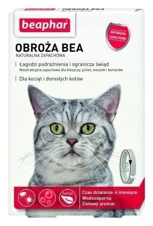 Beaphar naturalna obroża zapachowa dla kotów Dostawa GRATIS od 159 zł + super okazje