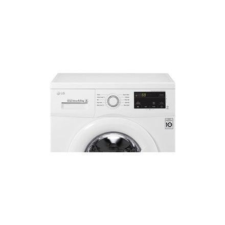 LG Steam Washing Machine FH2J3WDN0 Front loading, Washing capacity 6.5 kg, 1200 RPM, Direct drive, A+++, Depth 44 cm, Width 60 c w Strefie Komfortu