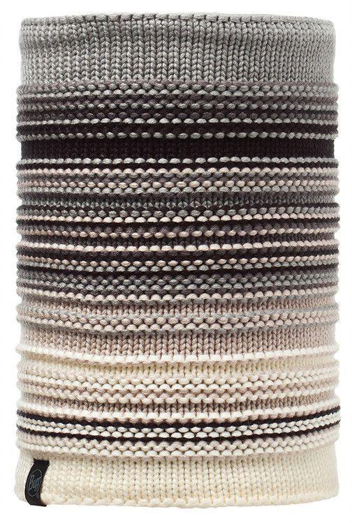Komin Neckwarmer Buff® Knitted&Polar Fleece Neper ELENI