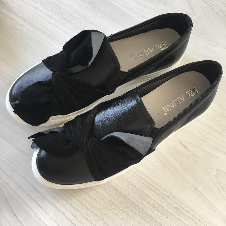 Skórzane buty Carinii
