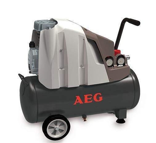 AEG L24-2 SPRĘŻARKA POWIETRZA KOMPRESOR OLEJOWY TŁOKOWY 1500W 24L EWIMAX - OFICJALNY DYSTRYBUTOR - AUTORYZOWANY DEALER AEG