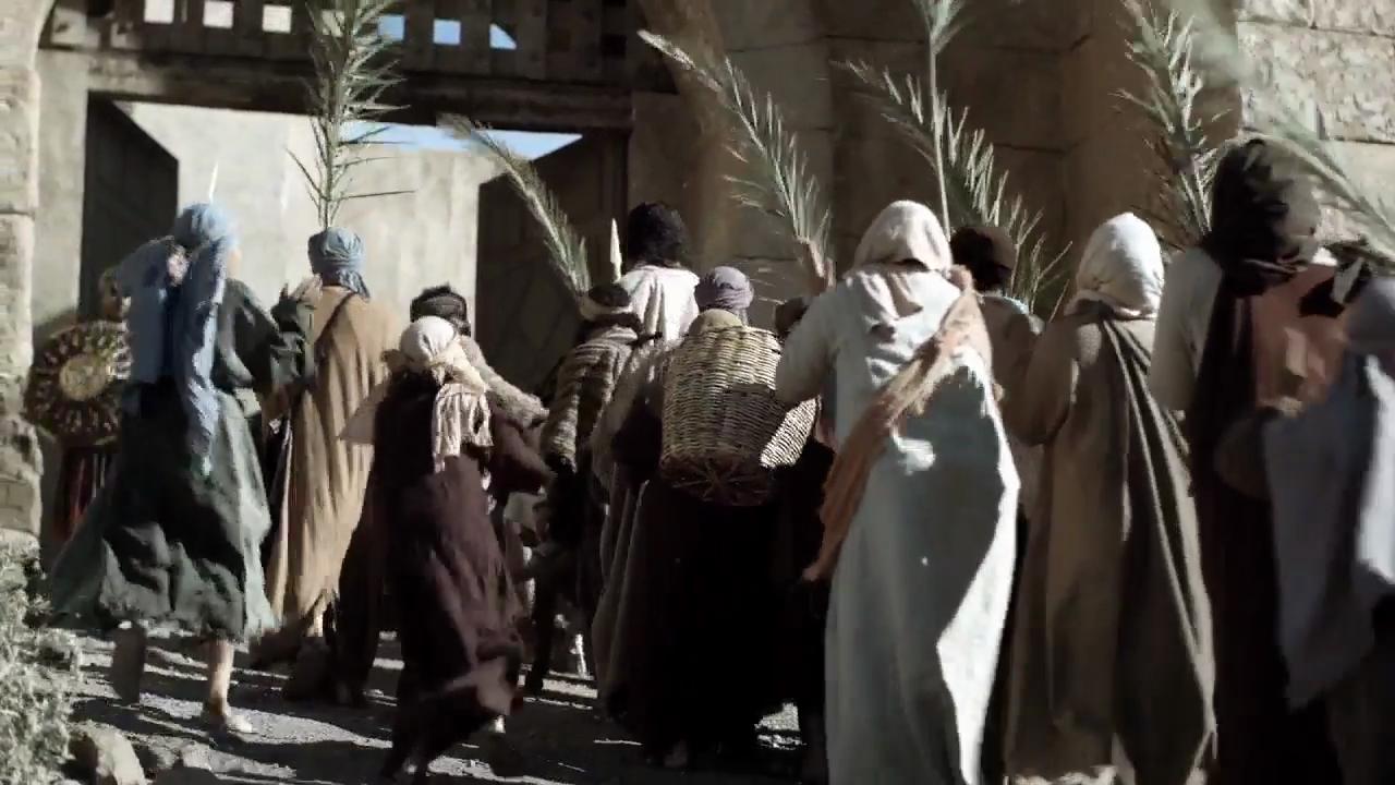 Triumphal Entry Videos: jesus' triumphal entry