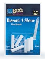 Lee's Discard-a-Stone - Fine Bubble - 6 pk