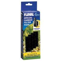Fluval Special Carbon Filter Pads for Fluval 4 Plus - 4 pk