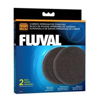 Fluval Carbon Impregnated Foam Pads for FX5/FX6 - 2 pk
