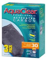 Hagen Activated Carbon Filter Insert for AquaClear 30/150 - 3 pk