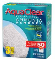 Hagen Ammonia Remover Filter Insert for AquaClear 50/200 - 3 pk