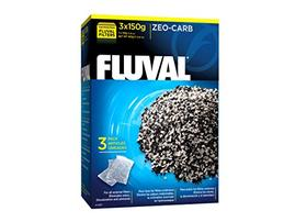 Fluval Zeo-Carb Filter Insert - 150 g - 3 pk