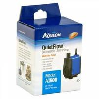 Aqueon QuietFlow Submersible Utility Pump - AQ600