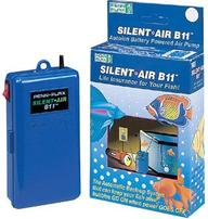 Penn Plax Silent Air Battery Operated Air Pump - B11