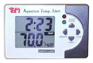 Tom Aquatics Temp Alert Digital Thermometer - Fahrenheit