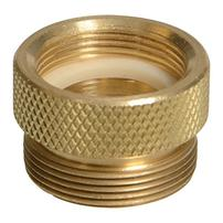 "Python Female Brass Adapter - 3/4"" x 27"