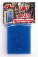 Zoo Med Mechanical Sponges for Turtle Clean 318/Micro Clean 316 Filters - 3 pk