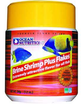 Ocean Nutrition - BRINE SHRIMP PLUS FLAKE FOOD 5.5oz