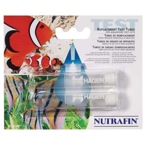 NutraFin Test Tubes w/ Caps - 2 pack