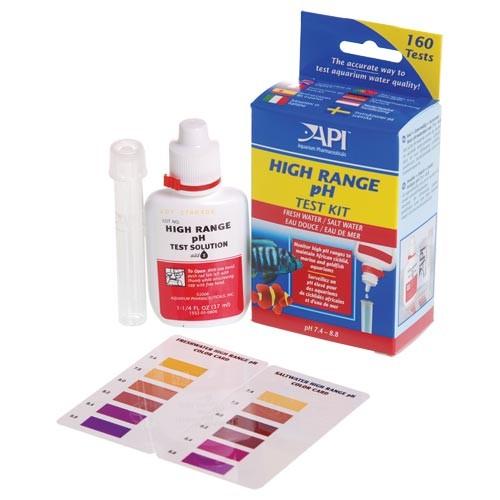 Api High Range Ph Test Kit Test Kits Aquarium Supplies
