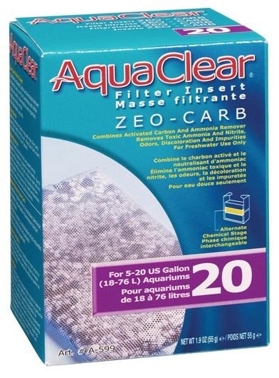 Hagen Zeo-Carb Filter Insert for AquaClear 20/Mini - 3 pk