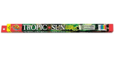 Zoo Med 5,500K Tropic Sun T8 Fluorescent Lamp - 17 W