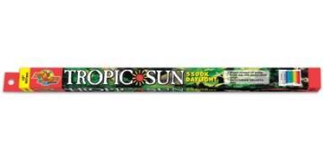 "Zoo Med 5,500K Tropic Sun T8 Fluorescent Lamp - 17 W - 24"""